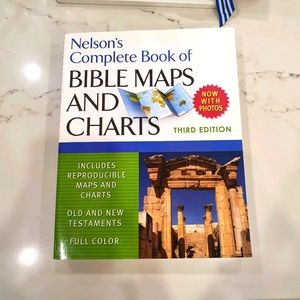 Book on Bible maps & charts